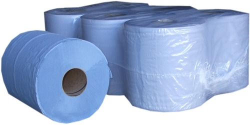 Blue Centre Feed Rolls 2Ply 180mm x 150 metres - Pack of 6