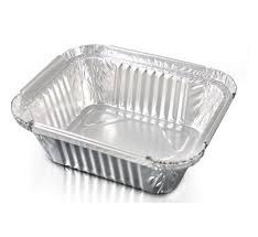 No. 2 Foil Container without Lid 4