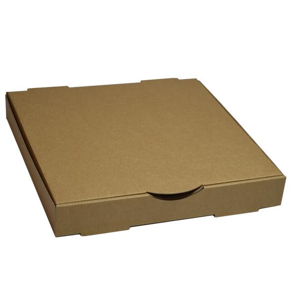 Plain Brown Pizza Boxes 12