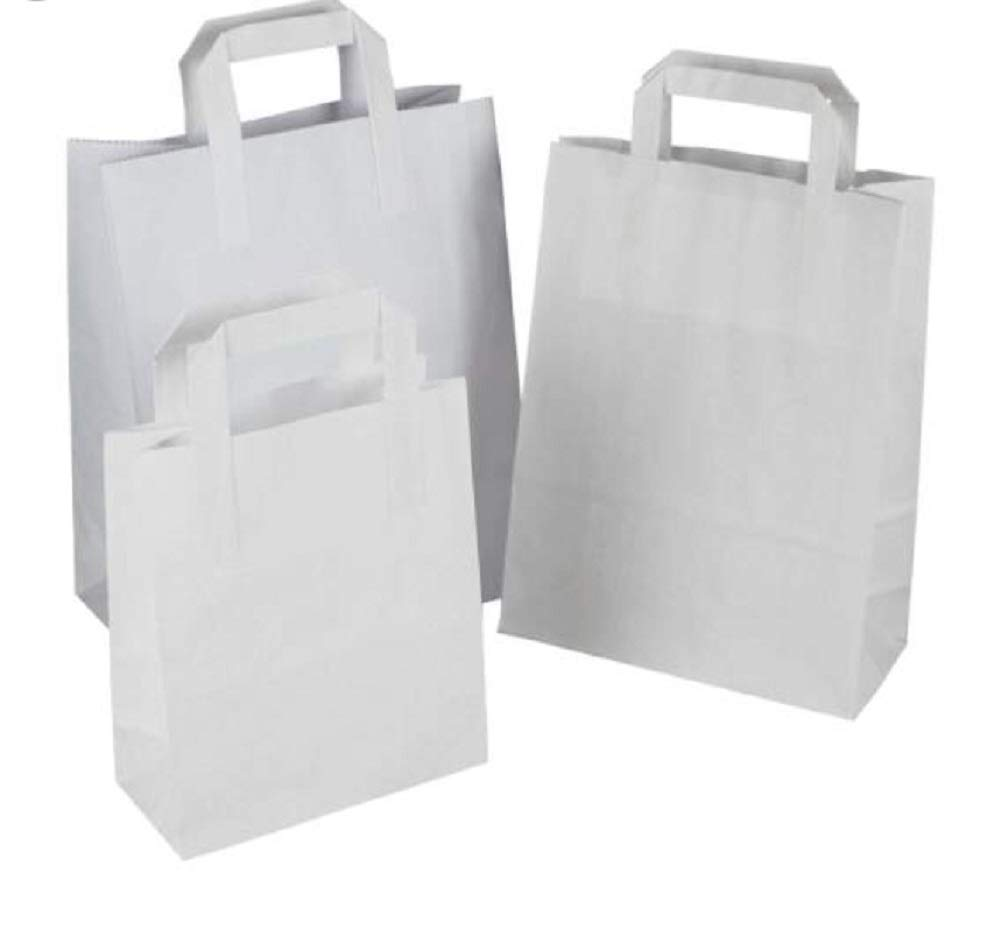 Small White Shopping Bags 7