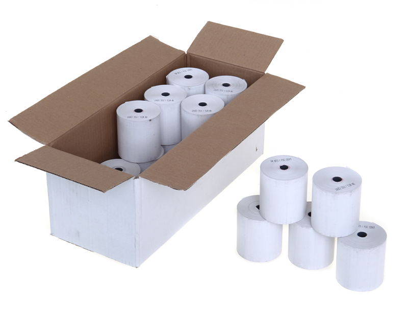 80mm x 70mm x 12.7mm - Thermal Till Rolls