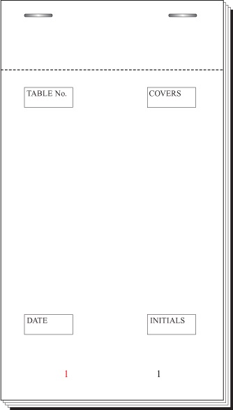 Medium Restaurant Pads 3.75
